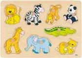 Goki Steekpuzzel : Zoodieren
