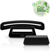 Stralingsvrije telefoon zwart met Antw.App. SwissVoice Epure V2