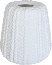 Lampenkap hang ø 13*14 cm Wit | 6LAP0003 | Clayre & Eef