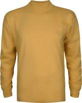 Alan Red T-shirt Illinois, turtleneck, oker