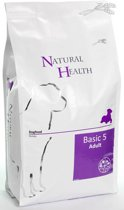 Natural Health Droogvoer NH Dog Basic Five 3kg.