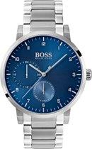 Hugo Boss HB1513597 horloge heren - zilver - edelstaal