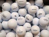 Golfballen gebruikt/lakeballs Dunlop mix AAAA klasse 50 stuks.