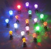 Dolphix - LED Oorbellen set RGB Multikleur - 2 stuks