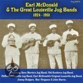 Earl Mcdonald & The  Great Louisville Jug Bands 1924-31