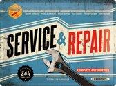 Wandbord - Service & Repair -30x40 cm