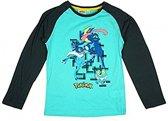 Pokemon shirt maat 104 Turquoise/marine