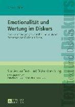 Emotionalitaet Und Wertung Im Diskurs