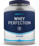 Body & Fit Whey Perfection - Eiwitpoeder / Eiwitshake - 2270 gram - Peach Mango milkshake