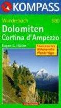 WF980 Dolomiten, Cortina d'Ampezzo Kompass