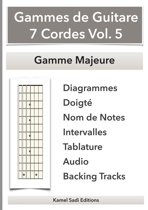 Gammes de Guitare 7 Cordes Vol. 5
