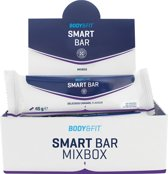 Body & Fit Smart Bars - Eiwitreep - 1 doos (12 eiwitrepen) - Mix Box (4x3 smaken)