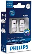 Philips X-TremeUltinon LED W5W-T10 6000k 127996000KX2