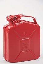 Minalco benzine jerrycan - metaal 5 Ltr - UN goedgekeurd - rood