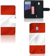 Bookstyle Case Nokia 2.2 Oostenrijk