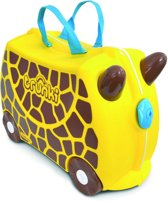 Trunki Ride-on Giraf Gerry Kinderkoffer - 46 cm - Geel/Bruin