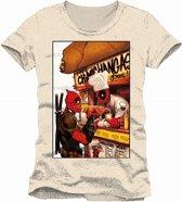 Deadpool - Free Chimichangas Men T-Shirt - White - XXL