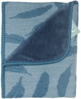 Baby Anne-Cy Veer Wiegdeken Teddy Jeans Blue 80 x 100 cm