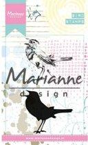 Marianne Design Cling Stempel Tinys Birds 2 MM1619
