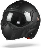ROOF BoXXer Uni Mat Zwart Systeemhelm - Motorhelm - Maat XXL