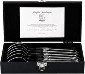 Laguiole Style de Vie Luxury Line Lepels – RVS - 6 stuks