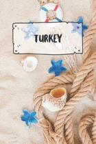 Turkey: Ruled Travel Diary Notebook or Journey Journal - Lined Trip Pocketbook for Men and Women with Lines