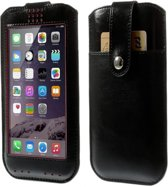 View Cover voor Lg F60, Hoes met Touch Venster, zwart , merk i12Cover