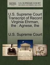 U.S. Supreme Court Transcript of Record Virginia Ehrman