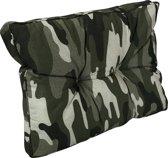 Madison Florance Panama Camouflage rugkussen 60 x 43cm lounge kussen