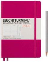 Leuchtturm agenda 2020 7d2p medium harde kaft berry
