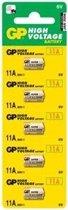 GP Alkaline 11A blister 5