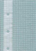 Gewapend transparant afdekzeil 6x8m 220gr/m²
