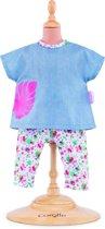 Corolle Mon Grand Poupon kleding Outfits Set-Tropicorolle 36 cm