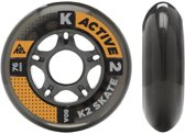 K2 Active Formula Skate All Round Fitness Pack of 8 Rolls 76 mm/80 a (2 x 3053002.1.1)