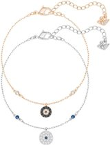 Swarovski Crystal Wishes Evil Eye Bracelet Set, Blue 5272256