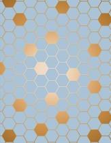 Hexagon Graph Paper Notebook