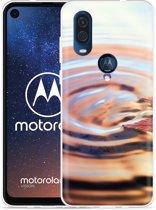 Motorola One Vision Hoesje Ripple
