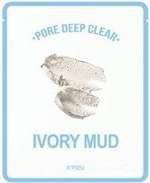 A'pieu - Pore Deep Clear Ivory Mud Mask