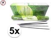 1x  Anti muggen wierook Darshan - 100 stokjes / geurstokjes