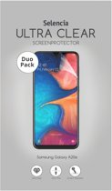 Selencia Duo Pack Ultra Clear Screenprotector voor de Samsung Galaxy A20e