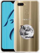 Oppo AX7 Hoesje Fly me to the Moon