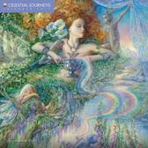 Celestial Journeys by Josephine Wall Wall Calendar 2017