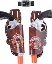 Toi-toys Pistolenset 28 Cm Bruin/grijs 5-delig