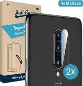Just in Case Tempered Glass voor de Oneplus 7 Pro Camera Lens 2 stuks