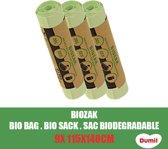 Dumil Biozak 240 Liter 115X140CM - 9 Stuks Voordeelverpakking