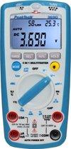 Peaktech 3690: Digitale multimeter ~ 4.000 counts ~ met geluidsniveau, temperatuur, R.H. & lux-meter
