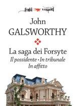 La saga dei Forsyte. Tre volumi: Il possidente, In tribunale, In affitto
