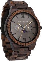 De officiële WoodWatch | Lunar Eclipse | Houten horloge heren