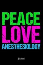 Peace Love Anesthesiology Journal