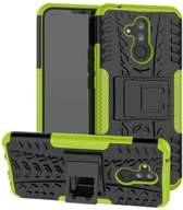 Rugged Hybrid Huawei Mate 20 Lite Case - Groen